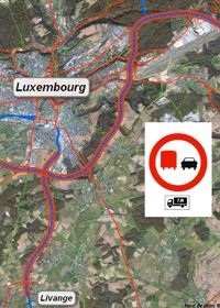 No overtaking: Map of Sections