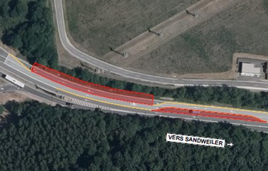 N2: Chantier rond-point Schaffner